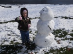 snowman thumbs up