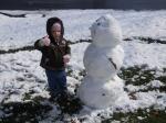 snowman thumbs up