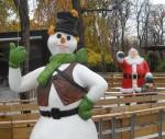 snowman-santa-claus